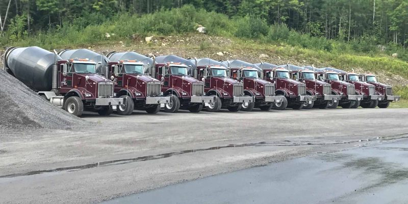 Leveque Bros cement truck fleet